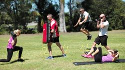 group fitness outdoor