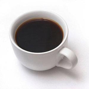 black coffee pre workout